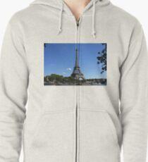 Eiffel Tower Zipped Hoodie
