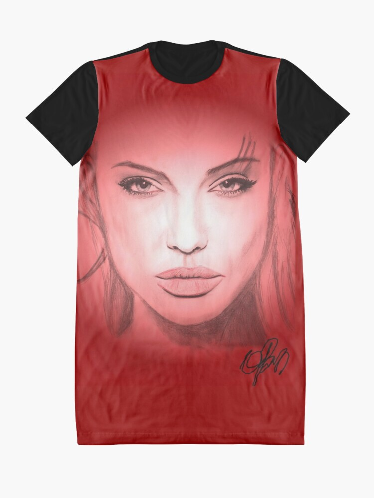 Alternate view of angelina Graphic T-Shirt Dress