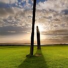 Standing Stones of Stenness .  Orkney Islands. Scotland. by PhotosEcosse