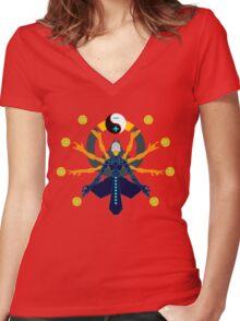 Zenyatta Transcendence Women's Fitted V-Neck T-Shirt