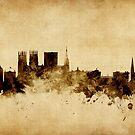 York England Skyline by Michael Tompsett