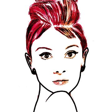audrey hepburn drawing by ralphyboy