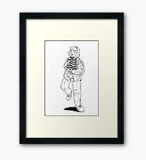 I Found the Pudding! Framed Print