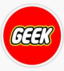 Lego Geek Sticker