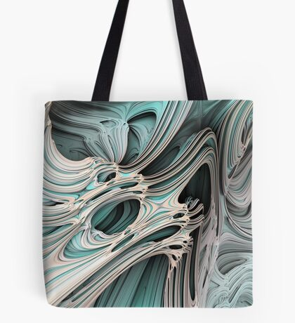Cosmic creature #Fractal Tote Bag