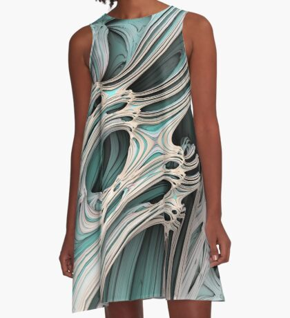 Cosmic creature #Fractal A-Line Dress