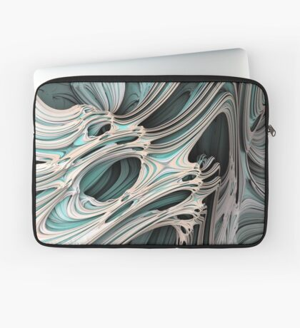 Cosmic creature #Fractal Laptop Sleeve