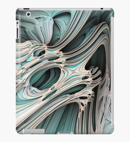 Cosmic creature #Fractal iPad Case/Skin