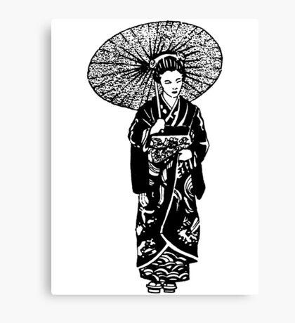 geisha 01-1 Canvas Print