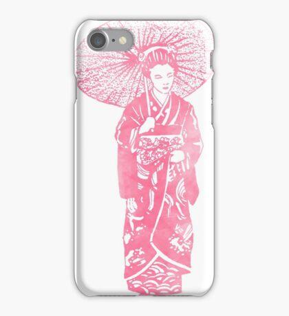 geisha 01-4 iPhone Case/Skin