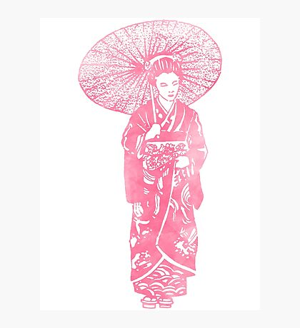 geisha 01-4 Photographic Print