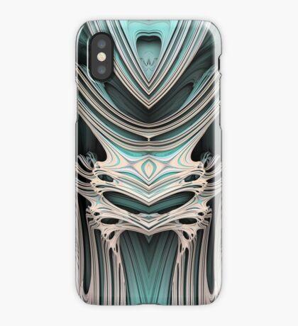 Cosmic creature #Fractal B iPhone Case