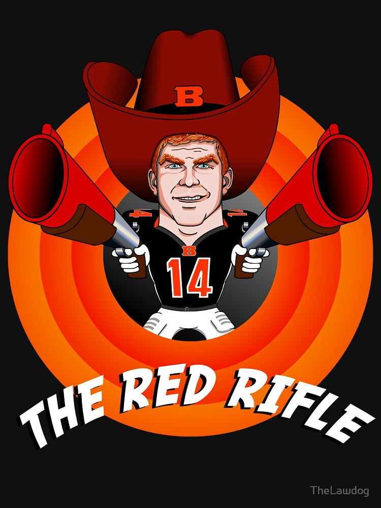 Image result for red rifle andy dalton