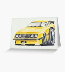 Escort RS2000 Mk2 By Glens Graphix Greeting Card