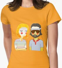 Margot& Richie  Womens Fitted T-Shirt