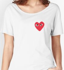 Commes Des Garcons - PLAY Women's Relaxed Fit T-Shirt