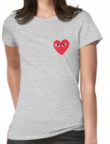 Commes Des Garcons - PLAY Womens Fitted T-Shirt