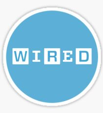 Wired Sticker