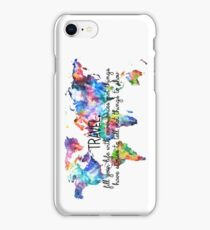 Travel experiences iPhone Case/Skin