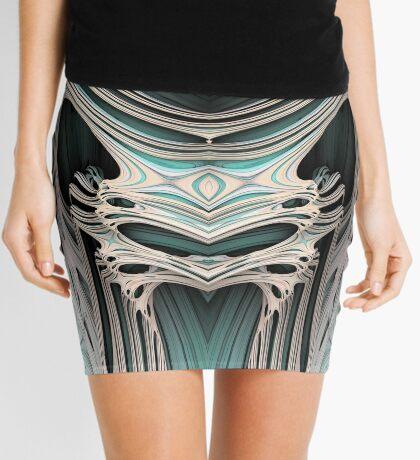 Cosmic creature #Fractal B Mini Skirt
