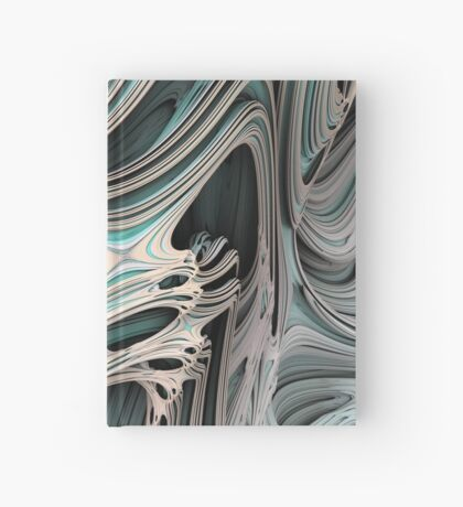 Cosmic creature #Fractal B Hardcover Journal