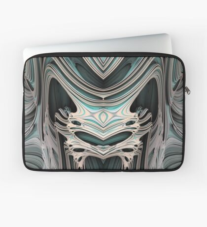 Cosmic creature #Fractal B Laptop Sleeve