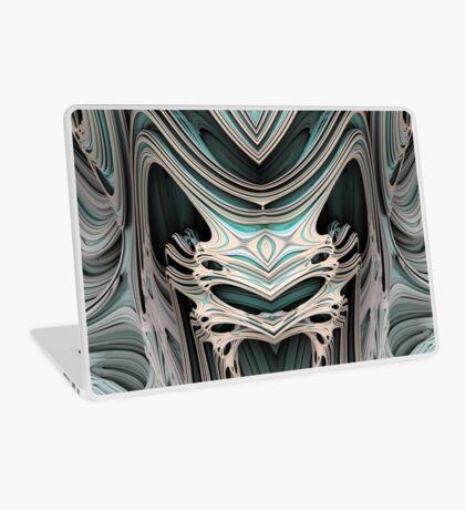 Cosmic creature #Fractal B Laptop Skin