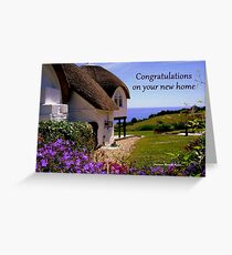 New Home -  Greeting Card  Greeting Card