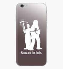 Guns are for fools. iPhone Case