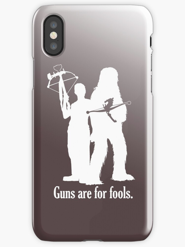 Guns are for fools. by TedDastickJr
