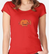 Halloween slice of life Women's Fitted Scoop T-Shirt