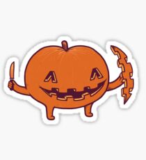 Halloween slice of life Sticker