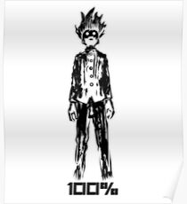 Mob 100% Poster