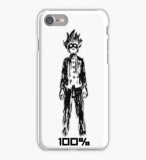 Mob 100% iPhone Case/Skin