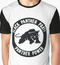 Black Panther Party - panther power Graphic T-Shirt
