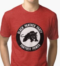 Black Panther Party - panther power Tri-blend T-Shirt