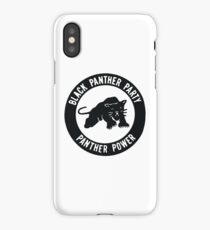 Black Panther Party - panther power iPhone Case/Skin