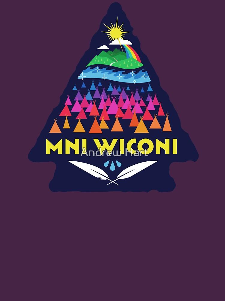 Mni Wiconi Shirt by AndrewHart