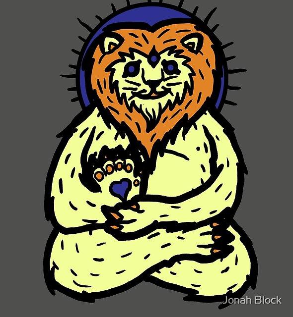 Spirit Lion by Jonah Block