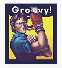 Groovy! Photographic Print