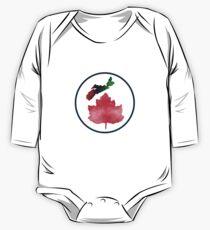 I Love Nova Scotia Canada One Piece - Long Sleeve