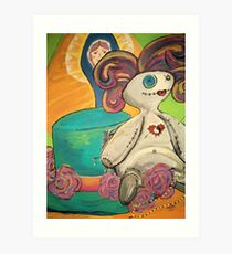 Little Dolly, Voodoo Child Art Print