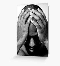 Hands/Head Greeting Card