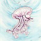 Lilac Jellyfish von Leoni Pfeiffer