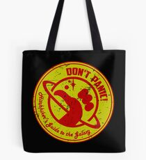 Hitchhiker's Bedding  Tote Bag