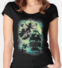 A ship to Neverland Women's Fitted Scoop T-Shirt