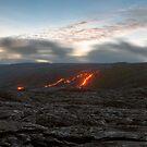 Coming Down the Mountain - Hawaii by Michael Treloar