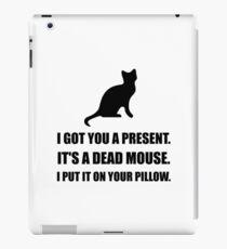 Cat Dead Mouse Pillow iPad Case/Skin
