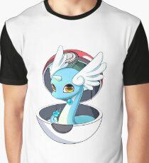 Cute Dratini in Pokèball Graphic T-Shirt