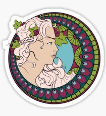Art Nouveau Sticker